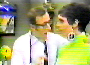 Woody Allen and Liza Minelli
