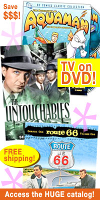 TV on DVD catalog