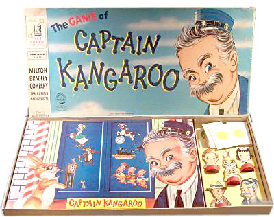 Captain Kangaroo game