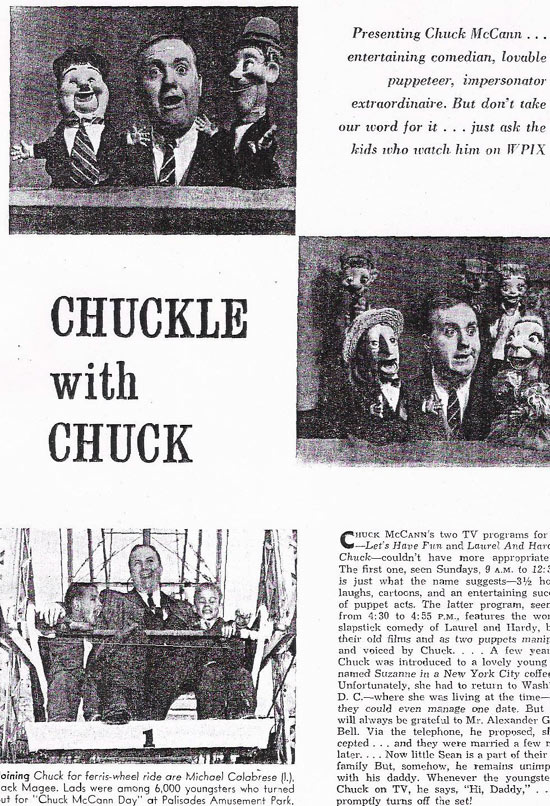 Chuck McCann article