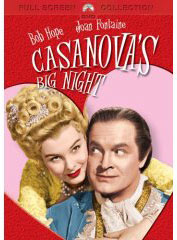 Bob Hope movie Cassanova on DVD