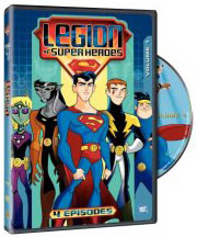 Legion of Superheroes on DVD