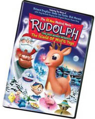 Rudolph Island of misfit toys on dvd