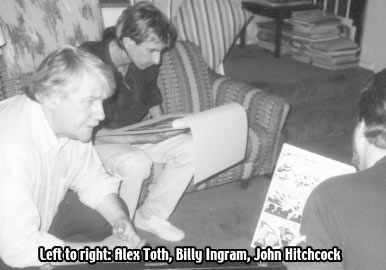 Alex Toth with Billy Ingram
