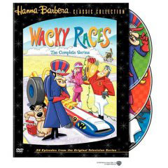 Wacky Races on DVD