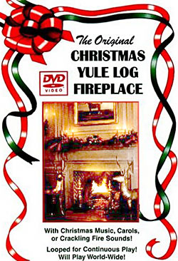 Yule Log on DVD