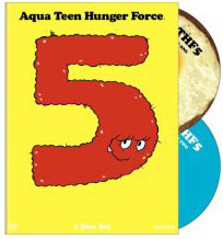 aqua teen Hunger Force DVD