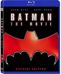 Batman 1966 movie Blue-Ray on DVD