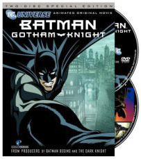 Batman Gotham Night TV series animated on DVD