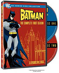 The Batman Animated on DVD