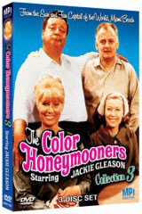 Color honeymooners with Jackie Gleason on DVd