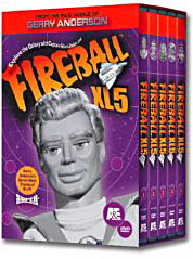 Fireball xl5 on DVD