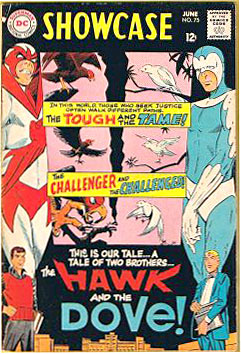 Hawk and the Dove by Steve Ditko comics 1960s