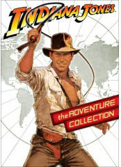 Indiana Jones movies on DVD