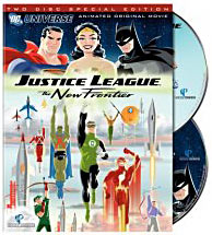 Justice League New Frontier on DVD