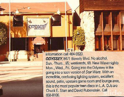The Odyssey Night Club in LA