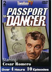 Passport To Danger on DVD