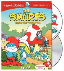 Smurfs on DVD