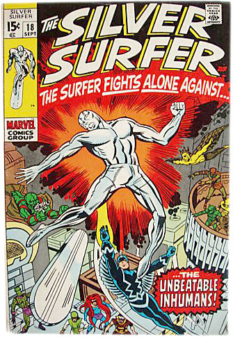 Silver Surfer comics 1970