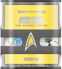 Star Trek Season One HD DVD on DVD