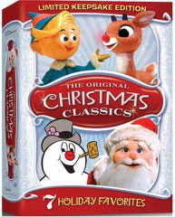 Rankin Bass Christmas Specials on DVD