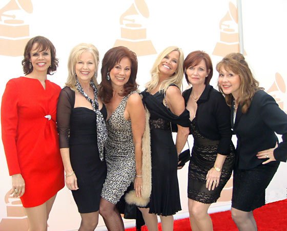 The Dean Martin Golddiggers at the grammys
