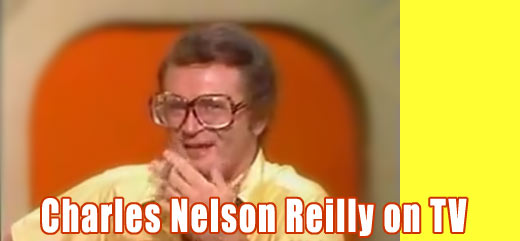 CHARLES NELSON REILLY on TV