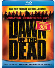 Dawn of the dead movie on Blu Ray