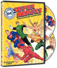 DC Super Heroes on DVD