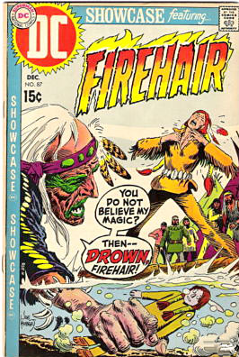 Firehair comic book