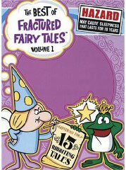 Fractured Fairy Tales on DVD