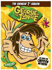 George of the Jungle on DVD