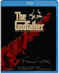 Godfather movies on Blu-Ray