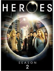 Heroes season 2 on DVD