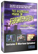 Hilarious House of Frightenstein on DVD