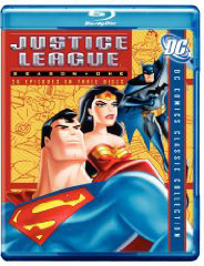 Justice League TV show on Blu Ray