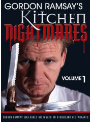 Kitchen Nightmares on DVD