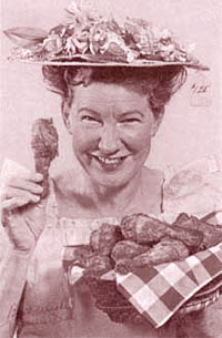 television blog + Minnie Pearl Fried Chicken