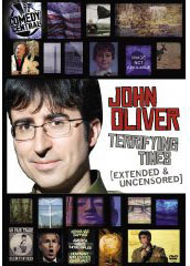 John Oliver: Terrifying Times on DVD