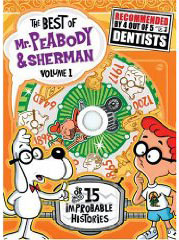 Peabody &amp; Sherman cartoons on DVD