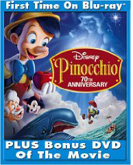 Pinochio on Blu-Ray & on DVD
