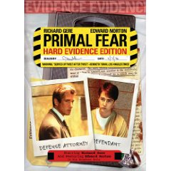 Primal Fear on DVD