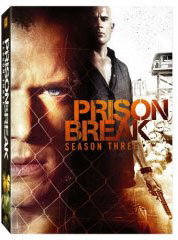 Prison Break Season 3 on DVD