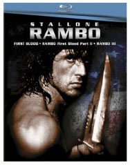 Rambo movies on Blu Ray
