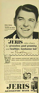 Ronald Reagan hair ad