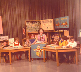 WTAE-TV, channel 4. Miss Jan (Bohna)