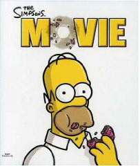 Simpsons movies on Blu Ray
