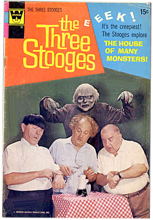 three stooges comic book