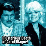 Death of Carol Wayne