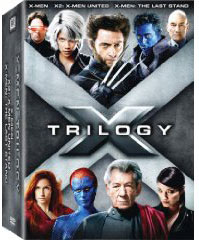 Xmen movies on Blu Ray